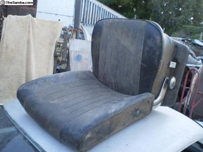 Low back seat Type 3 early passenger right side OG