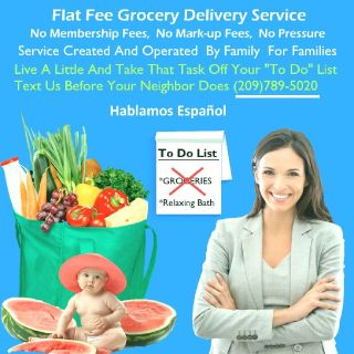 GROCERY DELIVERY SERVICE - NO MEMBERSHIP FEES - FAMILY OPERATED!