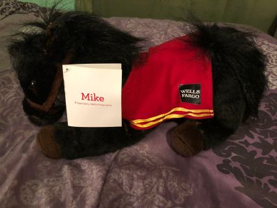 Wells Fargo Pony Plush with Tag Mike