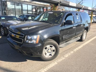 2010 Chevrolet Suburban LS 1500 (Black Granite Metallic)