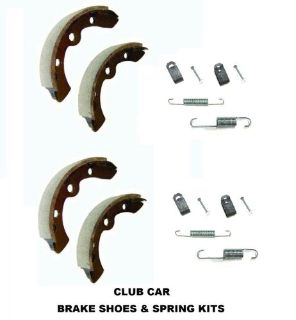 Purchase CLUB CAR GOLF CART BRAKE SHOES + SPRING KITS 1995 + DS & PRECEDENT GAS ELECTRIC motorcycle in Oxford, Massachusetts, United States, for US $36.99