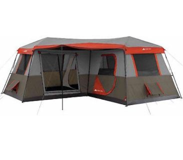 3 rooms tent