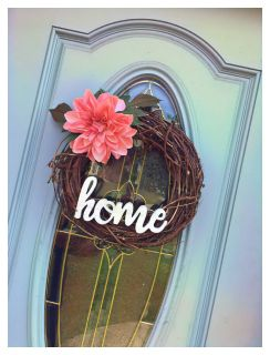 Handcrafted wreath