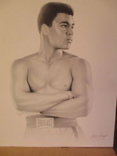 Ali Numbered Print - Rare - 1 Only
