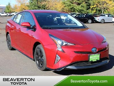 2017 Toyota Prius Three Touring (HYPERSONIC RED)