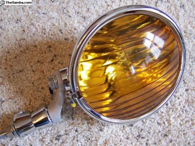 """Quality Repro 6.5"""" Lorraine Fog Lamp w/stand."""