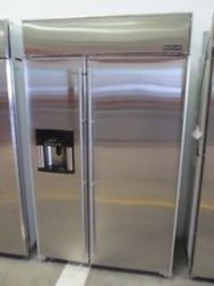 48 inch Jenn Air stainless refrigerator