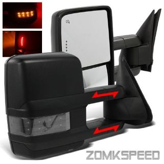 Purchase For 07-13 Suburban Power/Heated Tow Mirrors/Clear Smoke Signal+Clearance Light motorcycle in Baldwin Park, California, United States, for US $230.50