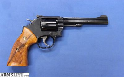 For Sale: SMITH & WESSON 48-7 .22 MAGNUM 6""