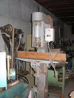 1924 converted Crescent mortiser