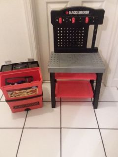 Work bench and rolling tool box
