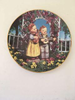 Hummel Plate Little Musicians