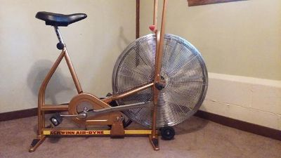 $125, Schwinn Aire-Dyne exercise bicycle $125