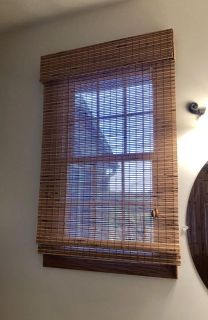 Bamboo window covering/curtain