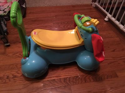 Fisher price ride on toy elephant