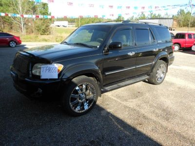 2006 Toyota Sequoia Limited (Black)