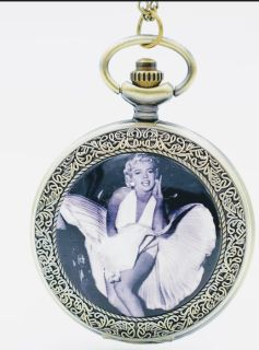 New. Marilyn Monroe Pocket WATCH