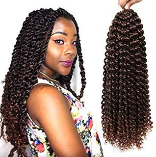 Passion Twist Braiding Hair 18inch