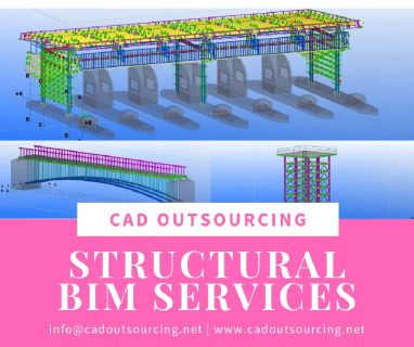 Structural BIM services in Brazil - CAD Outsourcing