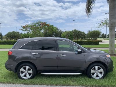 2011 Acura MDX Base w/Tech (Gray)