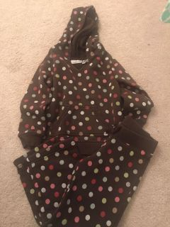 Jumping beans hooded sweatshirt and sweatpants size 4