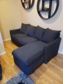 IKEA harnosand sofa with reversible covers