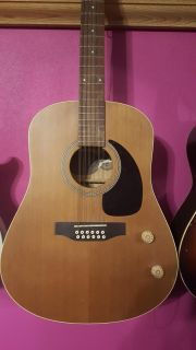 Seagull acoustic 12-string guitar S12+