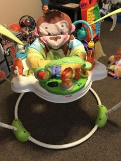GUC Fisher Price Precious Planet Jumperoo