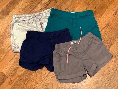 Girl shorts size 8 and 7/8