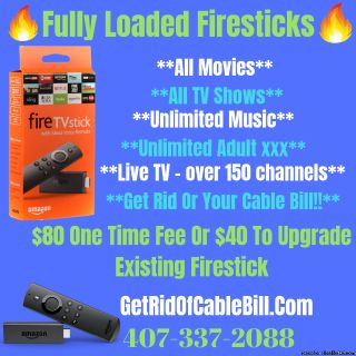Best Loaded Firesticks Eliminate Your Cable Bill
