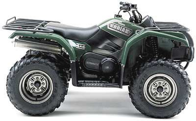 2003 Yamaha Kodiak 450 Automatic 4x4 ATV Utility ATVs Jesup, GA