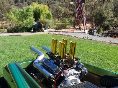 440 Dodge w/ Hilborn EFI Stack injection