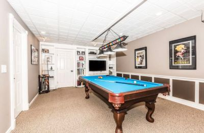 Olhausen Pool Table with all of the accessories