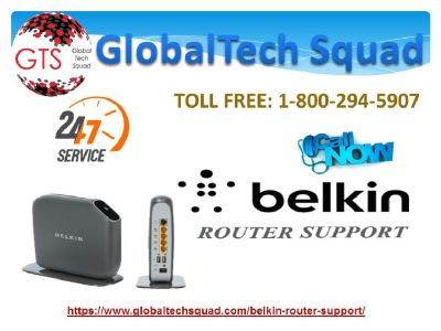 Support for Belkin Router Toll Free : 1-800-294-5907