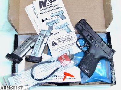 For Sale: S&W M&P Sheild 9mm M2.0 new models/ extra mag