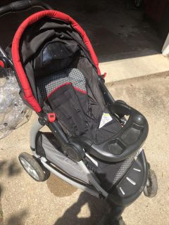 Graco stroller and weather canopy