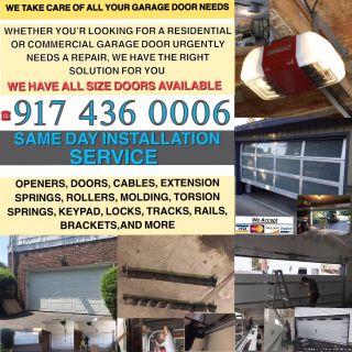 PROFESSIONAL GARAGE DOOR REPAIR AND INSTALLATION SERVICE NEW YORK