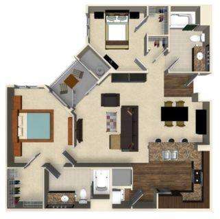 $7980 2 apartment in San Jose