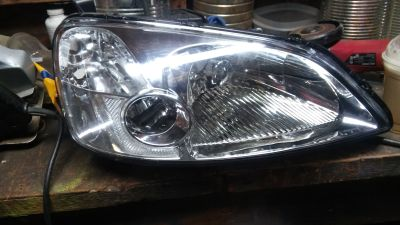 03 civic headlight lens