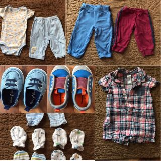 Mixed Lot of Boys Clothes 6 months - 12 months.