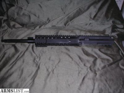 For Sale: barreld 5.56 and 762x39 free float AR15 upper receiver