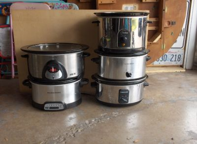 YOUR CHOICE OF SLOW COOKERS OR CROCK POT
