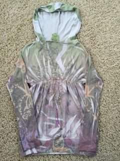 Girls Hooded Tunic-Size 10