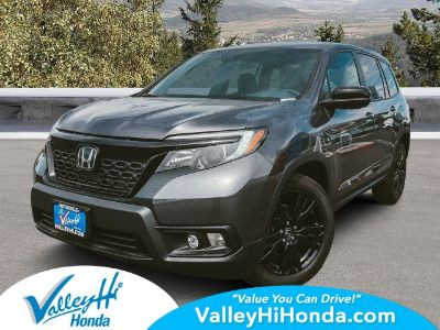 2019 Honda Passport Sport (Modern Steel Metallic)