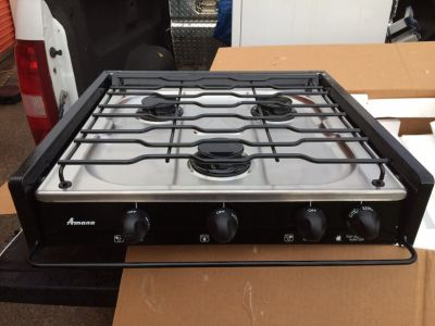 RV cooktop (STOVE)