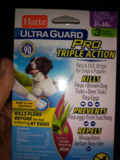 Hartz ultra guard pro triple action for dogs
