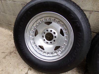 Center Line Rims & Tires