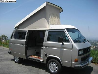 1987 Westfalia Full Camper Restored California