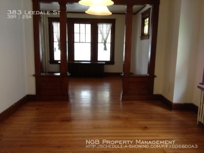 Single-family home Rental - 383 Leedale St
