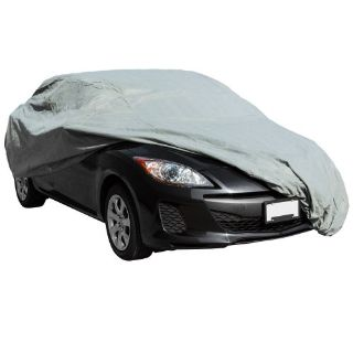 "Purchase X-Large Basic 16' 9"" to 19' Indoor Outdoor Full-Sized Auto Car Cover 65084 motorcycle in West Bend, Wisconsin, United States"